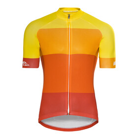 Red Cycling Products Colorblock Race Set Heren, red-yellow